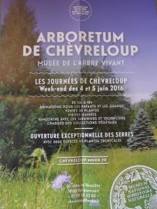 Affiche Journées Chèvreloup 4-5 Juin 2016