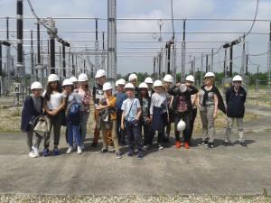 Visite du Poste électrique de Méré_Partenariat RTE