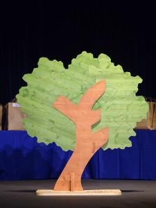 notre arbre des 25 ans