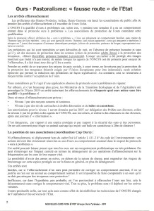 NOUVELLES OURS n°125 - FIEP Groupe Ours Pyrénées - 2019 _ page 2