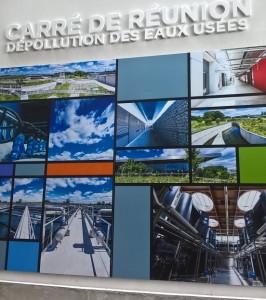 Carré de Réunion _ panneau